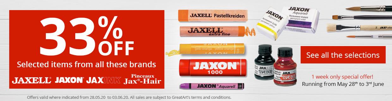 33% OFF JAXON,JAXELL